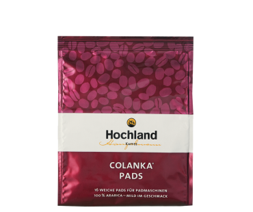Colanka Kaffee-Pads