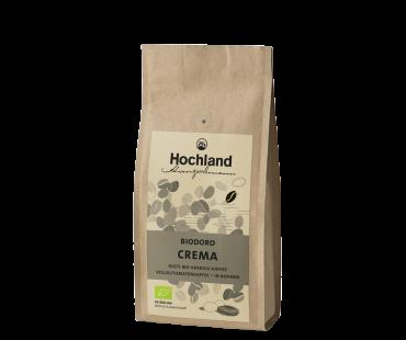 Biodoro Crema, 250g, ganze Bohnen