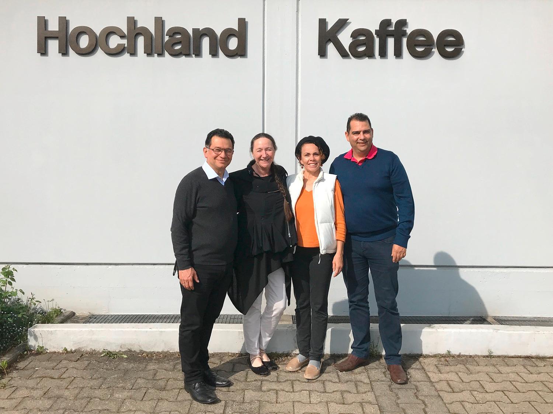 Hochland-Kaffee direkt gehandelt: Neue Geschäftsführung, bewährte Partnerschaft mit der Coopedota