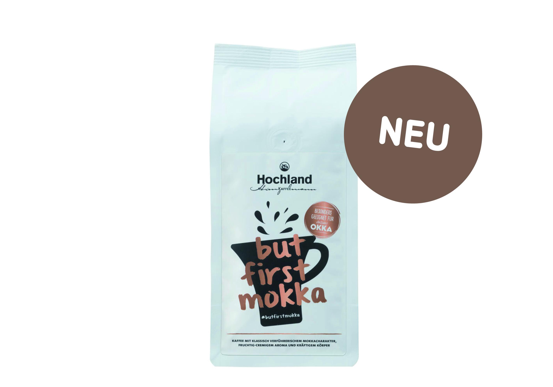 Unsere neuste Kaffeekreation: #BUTFIRSTMOKKA