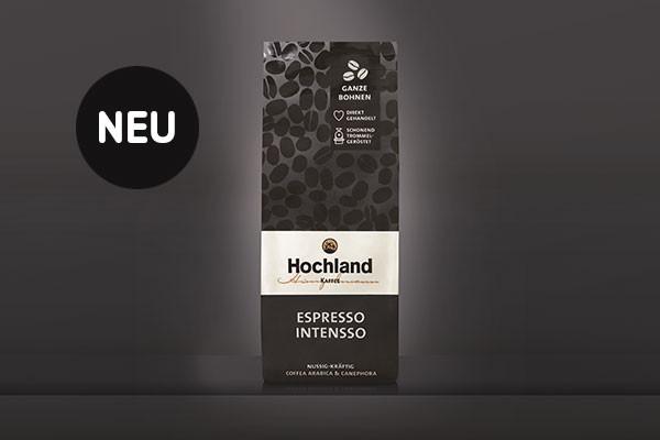 Unser neuer Espresso Intensso ist da!