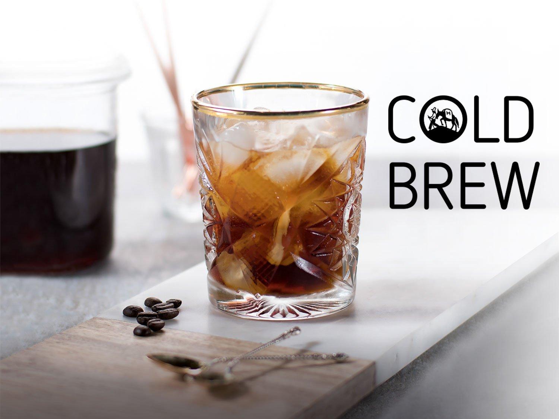 Hochland Kaffee eiskalt: Cold Brew