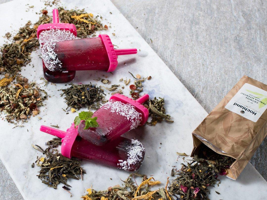 Popsicles aus Hochland-Tee ganz einfach selbstgemacht