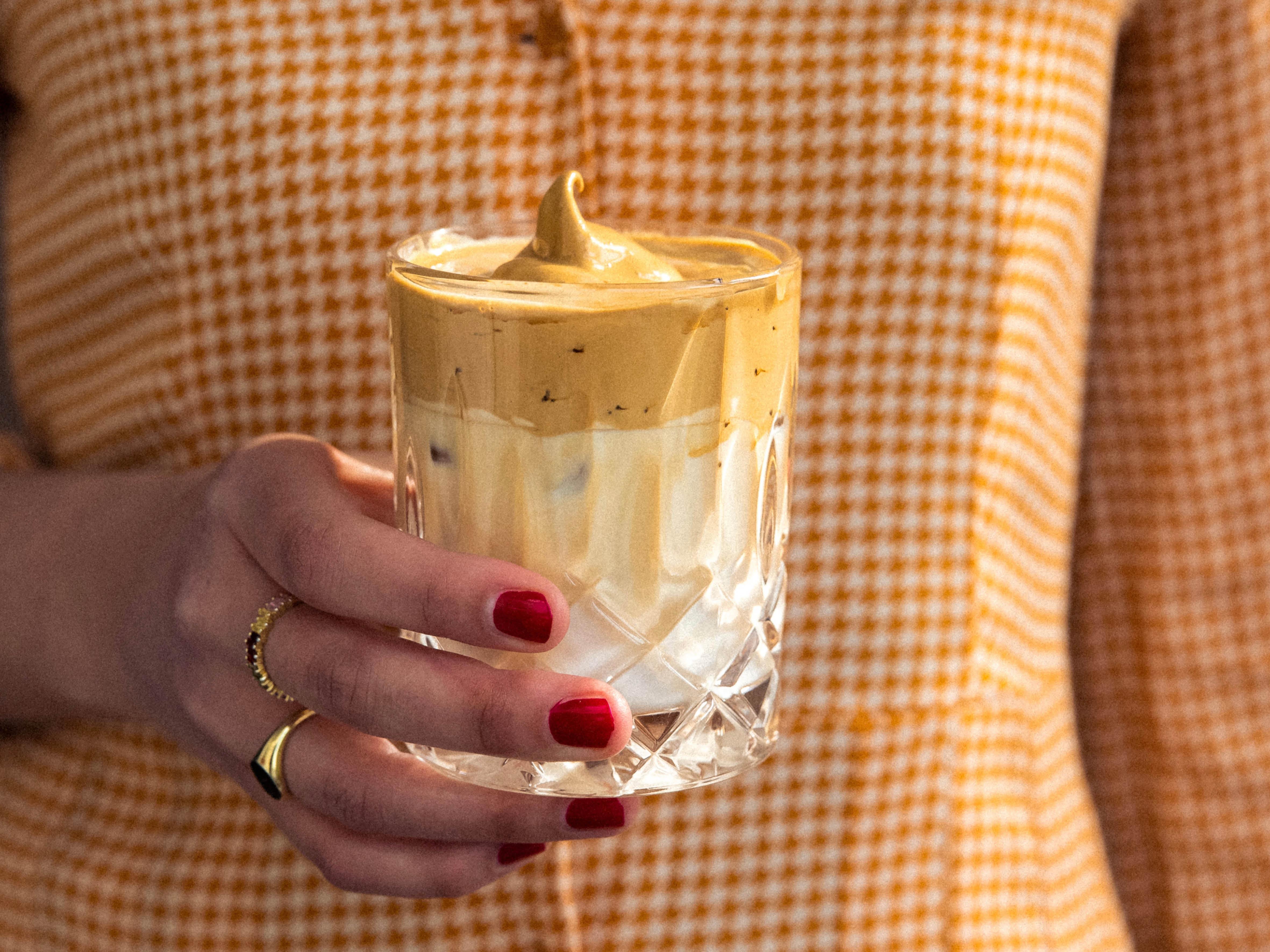 Dalgona Kaffee mit Hochland Kaffee