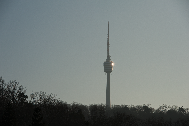 Stuttgarter Wahrzeichen: der Fernsehturm
