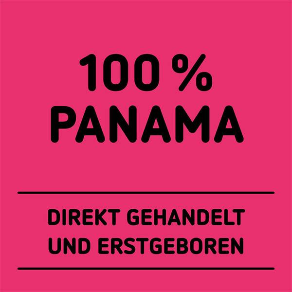 Schwarze Typografie auf pinkfarbenem Hintergrund