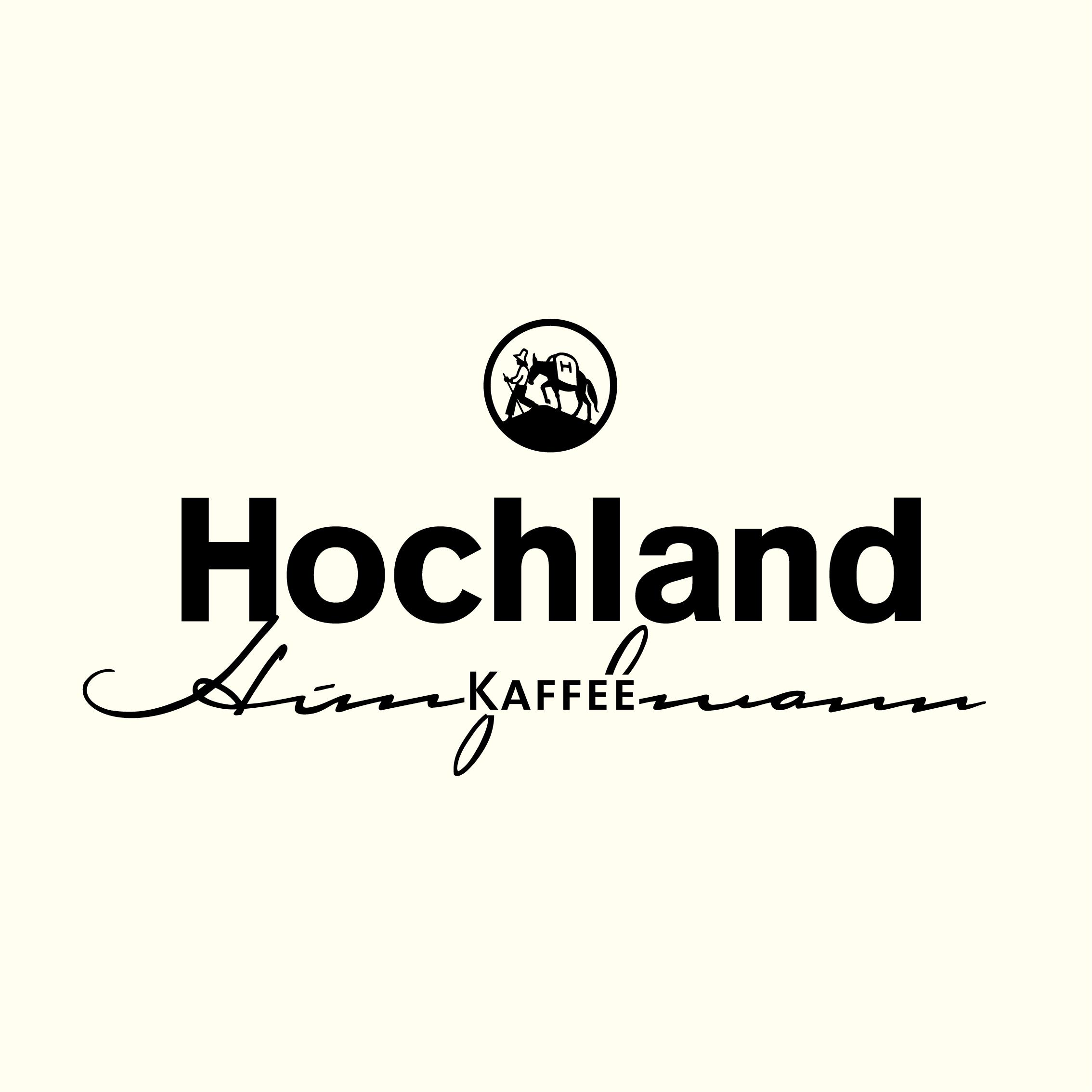 Hochland Bildmarke Markenmotiv auf hellem Untergrund