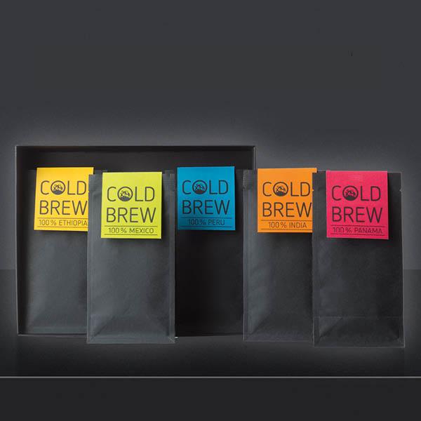 Hochland Kennenlernpaket mit fünf neuen Cold Brew-Sorten