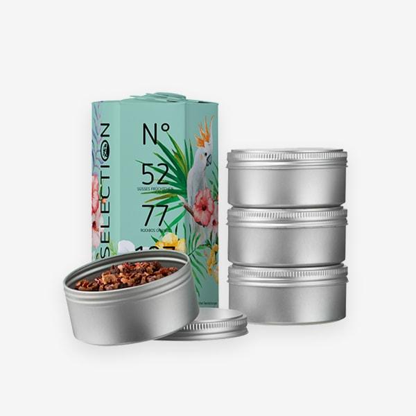 Hochland Summer Tea Edition mit tropischem Muster